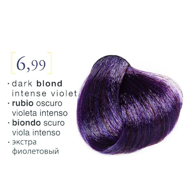 Vopsea De Par Permanenta Profesionala 699 Blond Inchis Violet