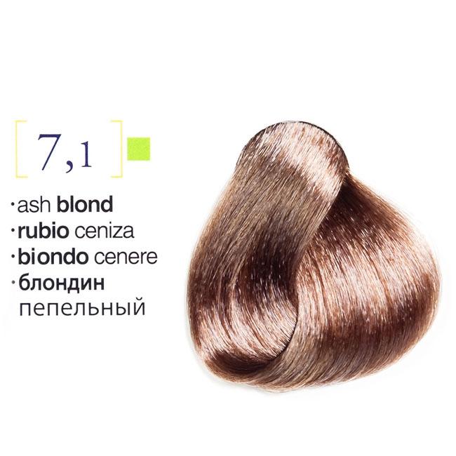 Vopsea De Par Permanenta Profesionala 71 Blond Cenusiu 75ml
